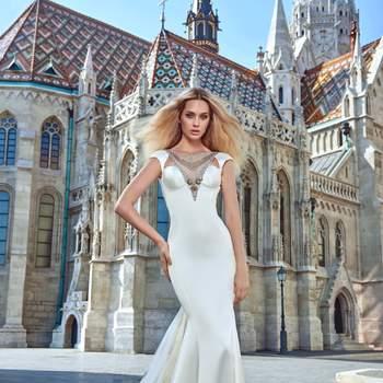 Foto: Modelo Juliana de Galia Lahav Haute Couture