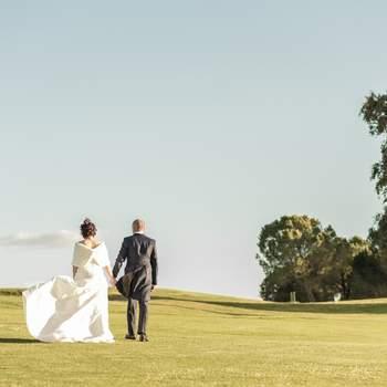 Consigue el reportaje de bodas perfecto en un espacio natural
