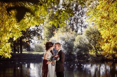 Краски осени: яркая свадьба Татьяны и Ильи
