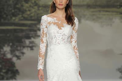 Suknie ślubne z długim rękawem: zakochasz się od razu!