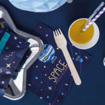 Serviettes Aventures Dans L'espace 20 Pièces - The Wedding Shop !