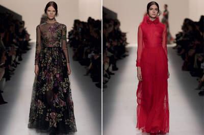 Inspiración para invitadas desde la Colección Valentino 2014-15
