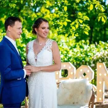 Boutique wedding in bohemian stijl: een huwelijksjubileum om nooit te vergeten! | Foto: Nufotograferen
