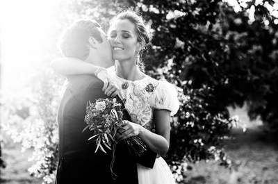 Cuando la elegancia brilla con luz propia: la boda de Isabel y Yago