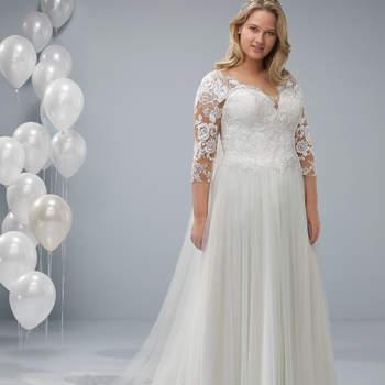 Vestido modelo Ocel da White One Plus