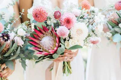 Bouquet da sposa con fiori e foglie : must have per spose di nuova generazione