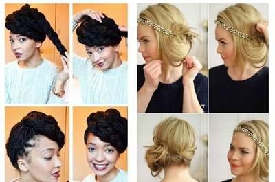 11 Beautiful Bridal Hair Tutorials You Can´t Miss!