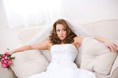 Au secours, mariée enrhumée !