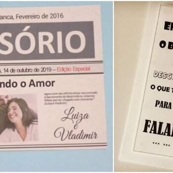 Foto 1: Amor e Luxo convites