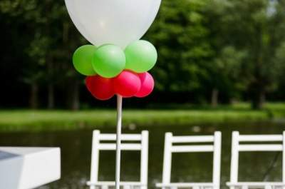 Planning the wedding theme: start early!
