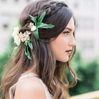 Peinados de novia con trenzas: Una tendencia que no pasa de moda