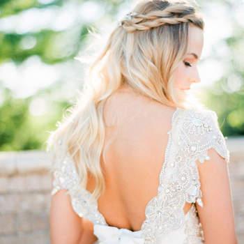 Cabelo de noiva solto | Credits: Kristin La Voie Photography