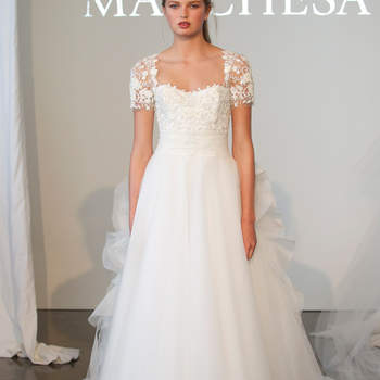 Фото: Marchesa 2015 - New York Bridal Week