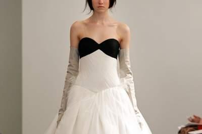Efecto dominó: vestidos de novia Vera Wang colección primavera 2014