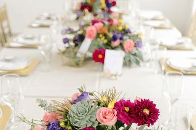 Toda una experiencia sensorial para la decoración de tu boda. ¡Espectacular!