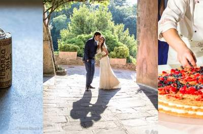 Daniela & Alexandre na Toscana: destination wedding romântico e inesquecível!