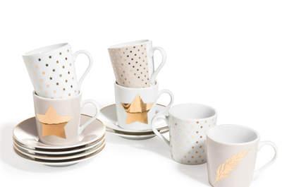 Golden tones for your post wedding brunch