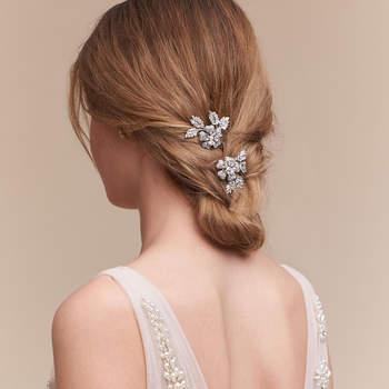 Petunia Hair Clips. Créditos: Bhldn.
