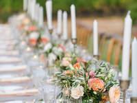 Décoration de tables de mariage 2017