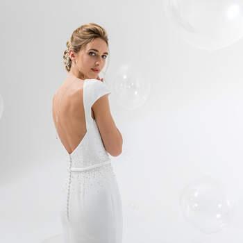 Photo : Eglantine Mariages & Cérémonies, robe Kymra