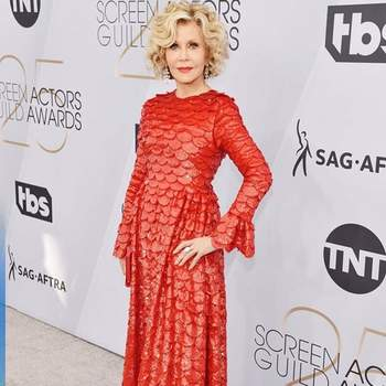 Jane Fonda de Valentino