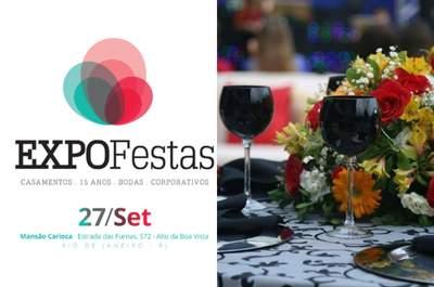 ExpoFestas na Mansão Carioca: evento imperdível para noivos antenados!