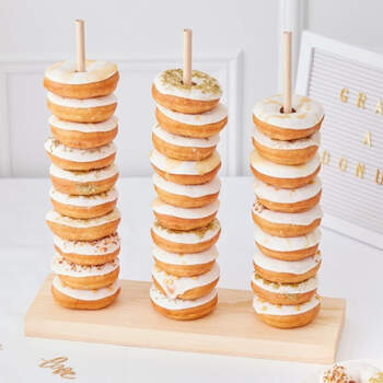 Porta Donuts de Madera- Compra en The Wedding Shop