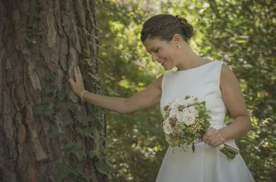 Los ramos de novia con flores blancas más elegantes: el complemento ideal para tu look