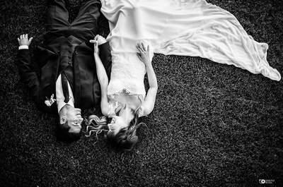 Black and white: l'abbinamento più originale per le decorazioni del tuo matrimonio