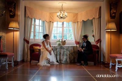 Apuesta por espacios interiores para tus fotos de boda