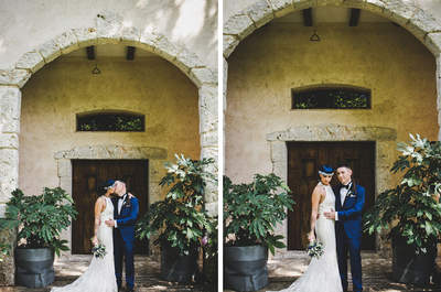 Un amor azul: la boda de Sara y Jack