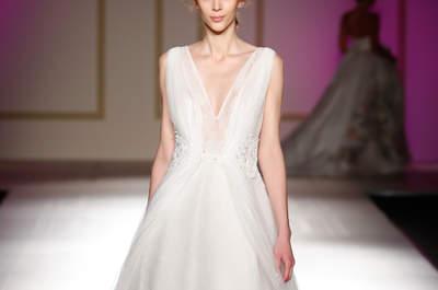 Abiti da sposa con scollatura a V: scegli di sentirti unica e sensuale!