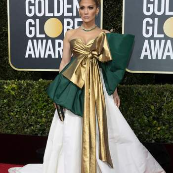 Jennifer Lopez veste Valentino. Crédits: Cordon Press