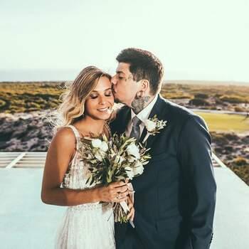Casamento de Agir e Catarina Gama | Foto via IG @agirofficial
