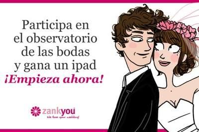 ¡Participa en nuestra encuesta internacional de bodas y gana un iPad!