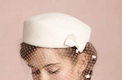 Kopfbedeckungen für eine Winterhochzeit