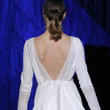 Patricia Avendaño. Credits: Barcelona Bridal Fashion Week