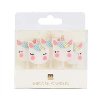 Velas De Cumpleaños Unicornio 5 unidades- Compra en The Wedding Shop