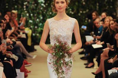 Découvrez quelques-unes des robes de mariée qui ont défilé à la New York Bridal Week