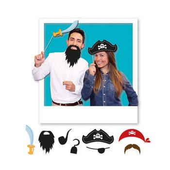 Atrezzo para Photocall Piratas 8 Unidades- Compra en The Wedding Shop