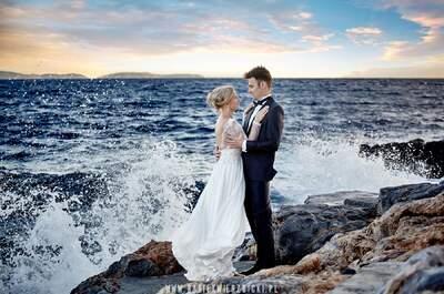 Sesja ślubna na greckiej wyspie Hydra Oli i Kuby! Zapraszamy!