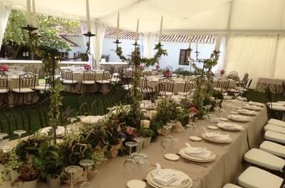 10 ideas para decorar tu boda con flores. ¡Apúntate la 5!