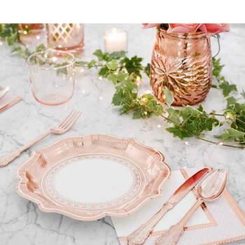 Foto: Cubiertos rosa