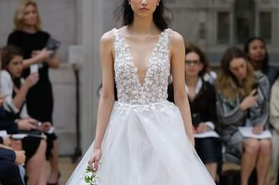 Vestidos de novia Oscar de La Renta 2018: elegancia y originalidad, ¡el mix perfecto para tu estilismo!