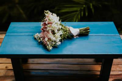 Ramos de novia 2017: Más de 100 diseños para inspirarte... ¡Flores únicas para ti!