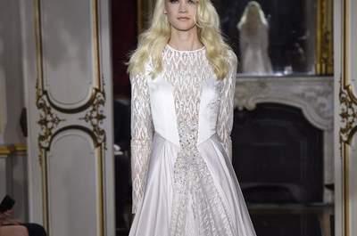 Conheça os vestidos de noiva de alta costura mais exóticos e inspirados em obras de arte