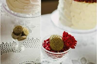 Decorações em dourado para o seu brunch pós-casamento