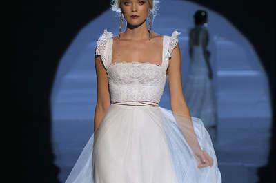 Vestidos de novia escote cuadrado: