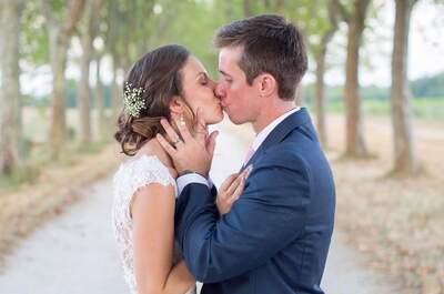 Borja et Erin : Un joli mariage bordelais pour ce couple d'Américains