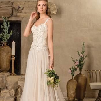 Style 2297 Tierra. Credits: Casablanca Bridal
